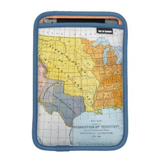 U.S. MAPA, 1776-1884 FUNDA PARA iPad MINI
