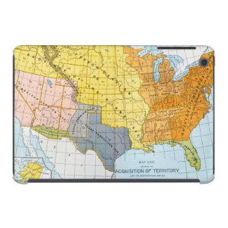 U.S. MAPA, 1776-1884 FUNDAS DE iPad MINI RETINA