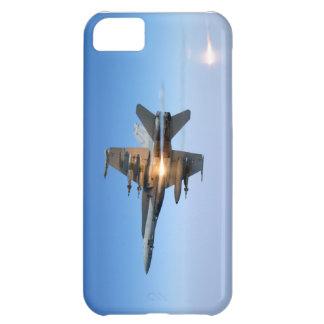 U.S. Marina de guerra F/A-18C que lanza llamaradas Funda Para iPhone 5C