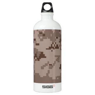 U.S. Marine Corps Marpat Desert Camouflage Aluminum Water Bottle