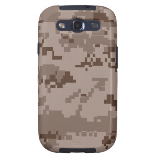 U.S. Marine Corps Marpat Desert Camouflage Samsung Galaxy SIII Covers