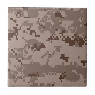U.S. Marine Corps Marpat Desert Camouflage Ceramic Tile