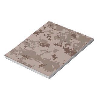 U.S. Marine Corps Marpat Desert Camouflage Notepad
