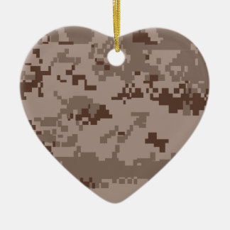 U S Marine Corps Marpat Desert Camouflage Christmas Ornaments