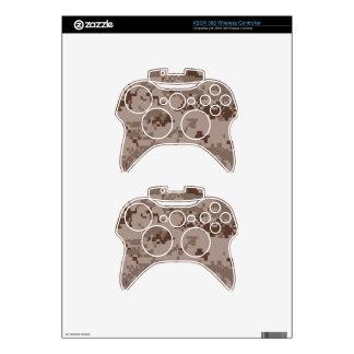 U.S. Marine Corps Marpat Desert Camouflage Xbox 360 Controller Skin