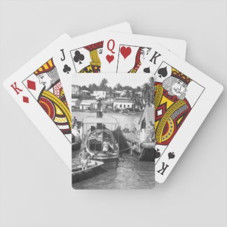 U.S. Marine Corps patrol boats _War Image Playing Cards