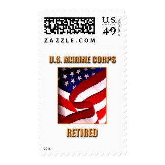 U.S. Marine Corps Postage Stamp