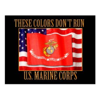 U.S. Marine Corps Postcard