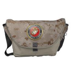 U.s. Marine Corps (usmc) Emblem [3d] Messenger Bag at Zazzle