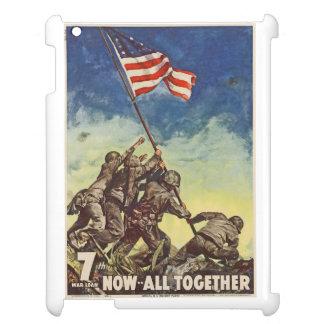 "U.S. Marine Corps Vintage ""Now All Together"" iPad iPad Cases"
