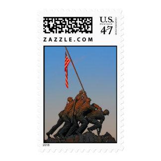U.S. Marine Corps War Memorial Postage Stamp