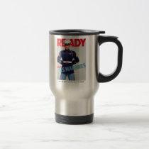 "U.S. Marine Corps WWII Vintage ""Ready"" Poster Mug"
