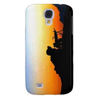 U.S. Marine Provides Security Operation Backstop Samsung Galaxy S4 Cases