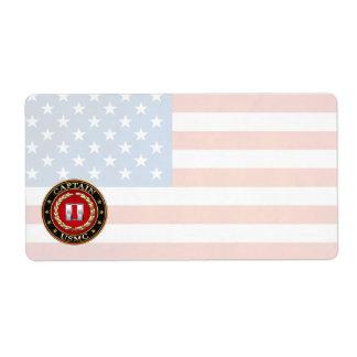 U.S. Marines: Captain (USMC Capt) [3D] Label
