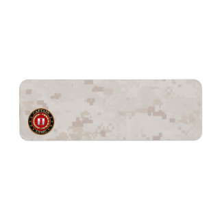 U.S. Marines: Captain (USMC Capt) [3D] Label