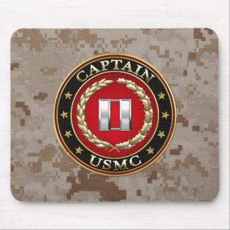 U.S. Marines: Captain (USMC Capt) [3D] Mouse Pad