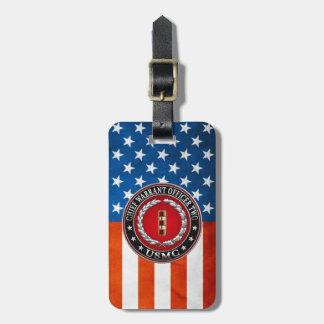 U.S. Marines: Chief Warrant Two (USMC CWO-2) [3D] Bag Tag