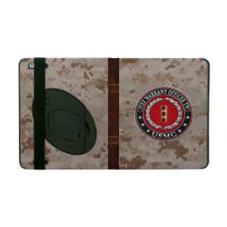 U.S. Marines: Chief Warrant Two (USMC CWO-2) [3D] iPad Case