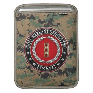 U.S. Marines: Chief Warrant Two (USMC CWO-2) [3D] iPad Sleeves
