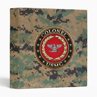 U.S. Marines: Colonel (USMC Col) [3D] Binder