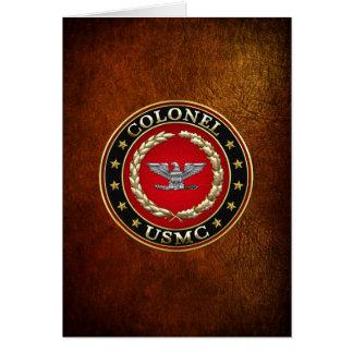 U.S. Marines: Colonel (USMC Col) [3D] Card