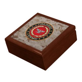 U S Marines Colonel USMC Col 3D Keepsake Box