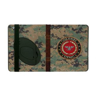 U S Marines Colonel USMC Col 3D iPad Folio Cases