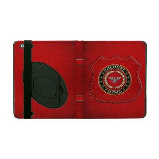 U S Marines Colonel USMC Col 3D iPad Cover