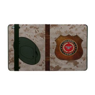 U S Marines Colonel USMC Col 3D iPad Case
