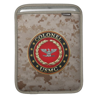 U.S. Marines: Colonel (USMC Col) [3D] Sleeves For iPads