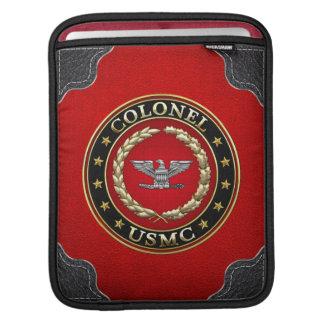 U.S. Marines: Colonel (USMC Col) [3D] iPad Sleeves