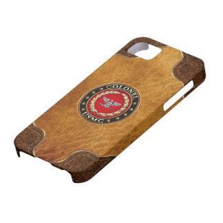 U.S. Marines: Colonel (USMC Col) [3D] iPhone SE/5/5s Case
