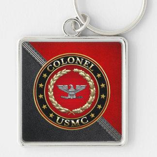 U.S. Marines: Colonel (USMC Col) [3D] Keychain