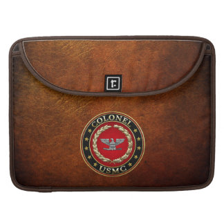 U.S. Marines: Colonel (USMC Col) [3D] Sleeve For MacBook Pro