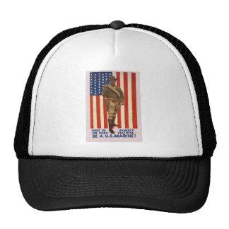 U.S. MARINES First In The Fight Always Faithful Trucker Hats