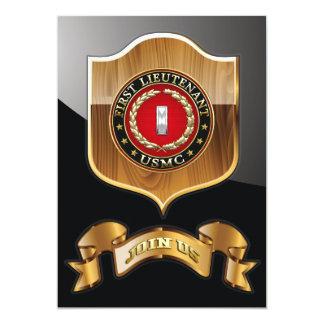 U.S. Marines: First Lieutenant (USMC 1stLt) [3D] Card