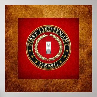 U.S. Marines: First Lieutenant (USMC 1stLt) [3D] Poster