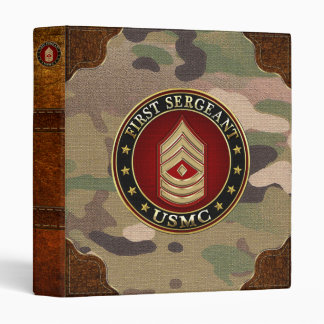 U.S. Marines: First Sergeant (USMC 1stSgt) [3D] Binder