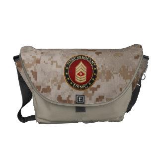 U.S. Marines: First Sergeant (USMC 1stSgt) [3D] Courier Bag
