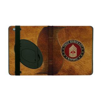 U.S. Marines: First Sergeant (USMC 1stSgt) [3D] iPad Cover