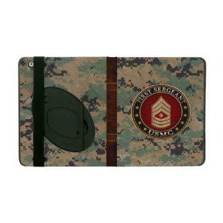 U.S. Marines: First Sergeant (USMC 1stSgt) [3D] iPad Covers