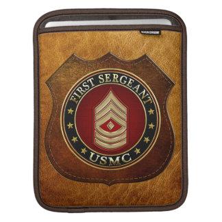 U.S. Marines: First Sergeant (USMC 1stSgt) [3D] iPad Sleeves