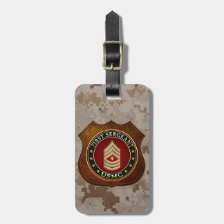 U.S. Marines: First Sergeant (USMC 1stSgt) [3D] Luggage Tag