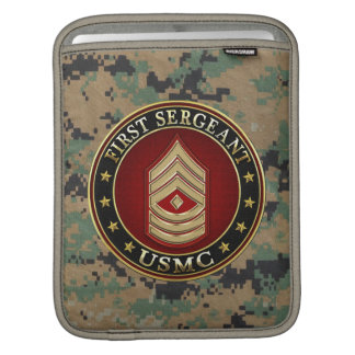 U.S. Marines: First Sergeant (USMC 1stSgt) [3D] Sleeves For iPads