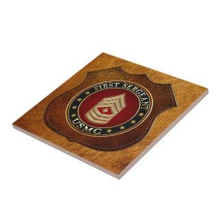 U.S. Marines: First Sergeant (USMC 1stSgt) [3D] Tile