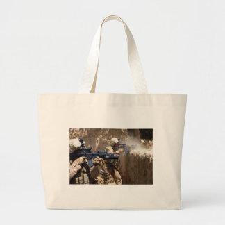 U.S. Marines in Helmand Province of Afghanistan Tote Bag