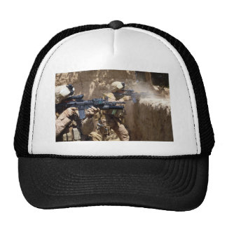 U.S. Marines in Helmand Province of Afghanistan Trucker Hat