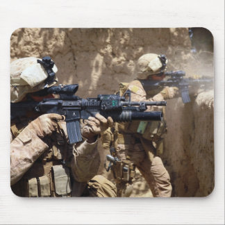 U.S. Marines in Helmand Province of Afghanistan Mouse Pad