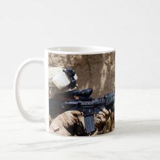 U.S. Marines in Helmand Province of Afghanistan Mugs