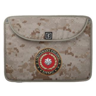 U.S. Marines: Lieutenant Colonel (USMC LtCol) [3D] Sleeve For MacBooks